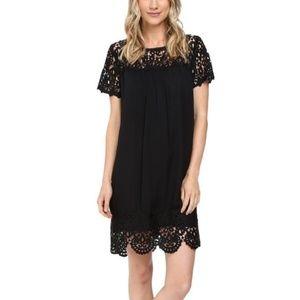Joie Black Lace Lea Dress